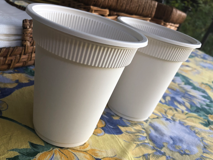 Vaso Biodegradable 270