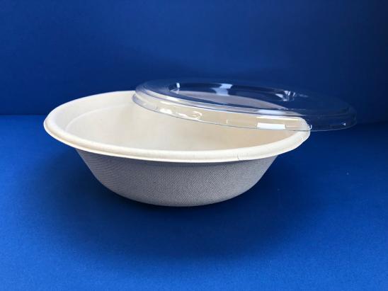 Salad Bowl Compostable 32 oz ctapa
