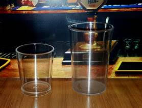 Vaso 70 y 110 ml, Semi o poli