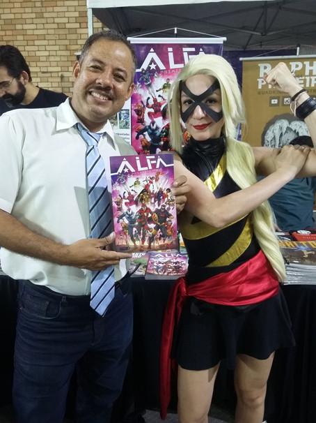 Editora Kimera e a Divulgação / lançamento de Quadrinhos e Obras Nacionais.