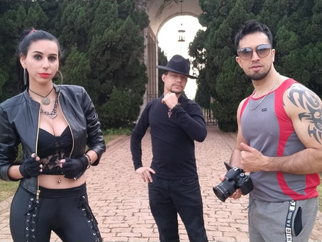 "Ani belle Feat. André Perucci lançando a versão Rock de ""Last Night"""