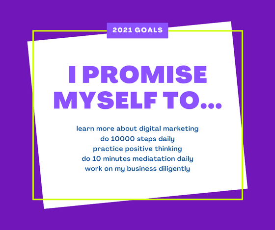Is it easier to work on your goals when you state and publish your goals?