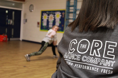 Kids Grey Core Sweatshirt