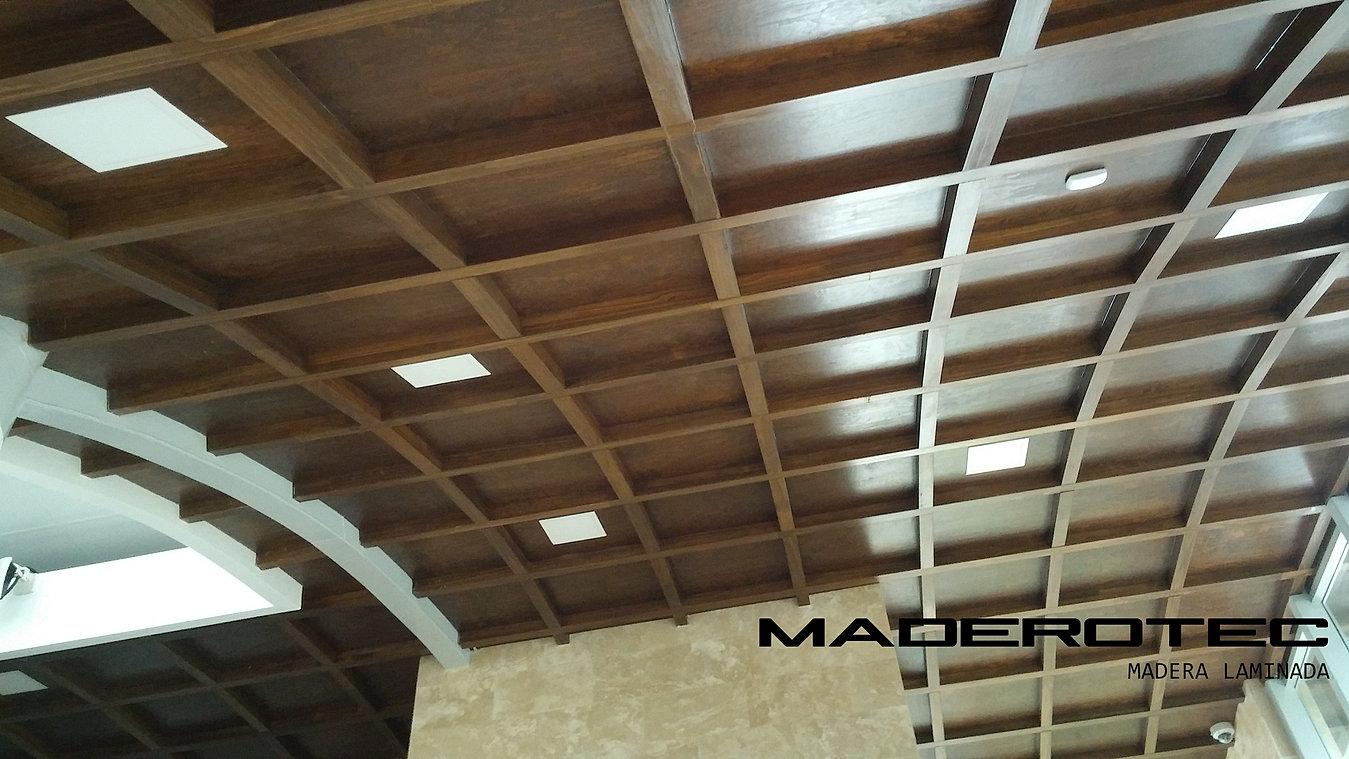 Cubierta madera laminada good casa en tepoztln morelos - Casas de madera laminada ...