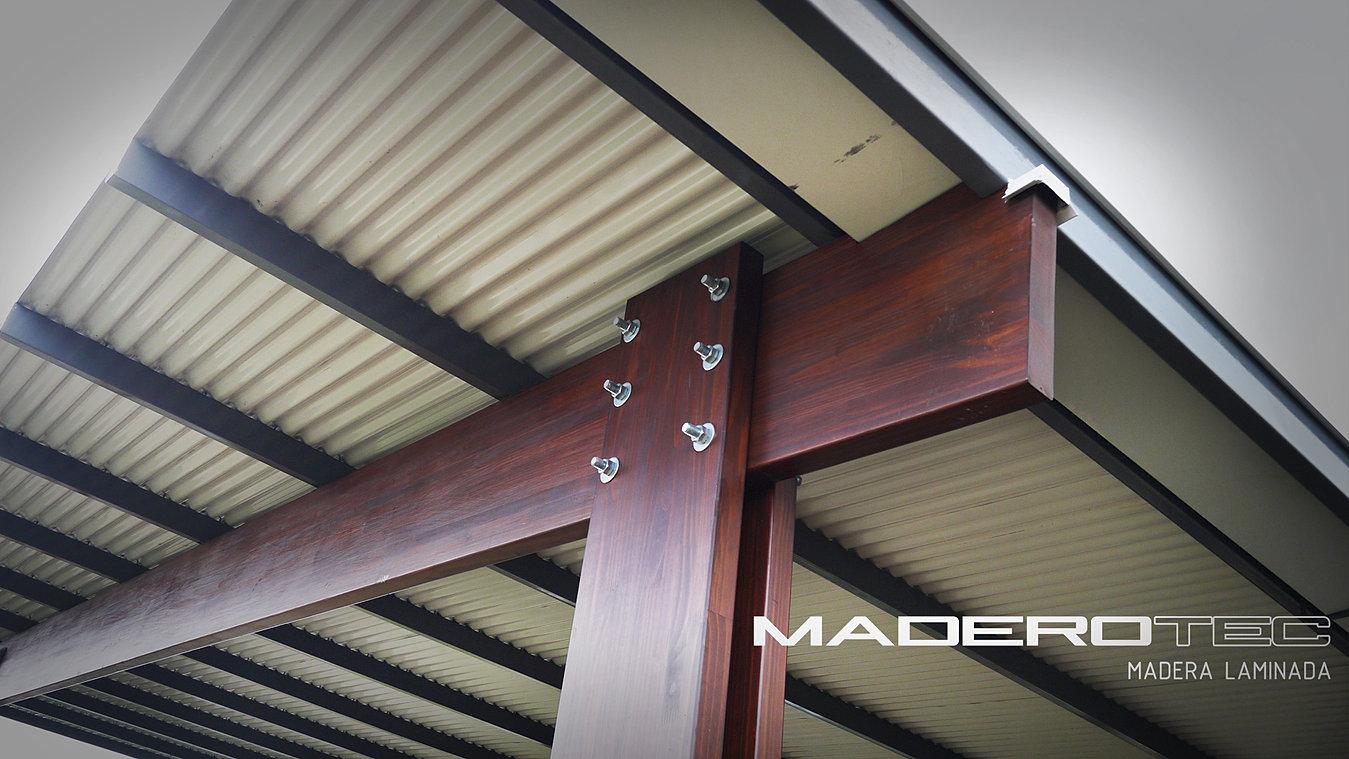 Maderotec estructuras de techo - Estructuras de madera para techos ...