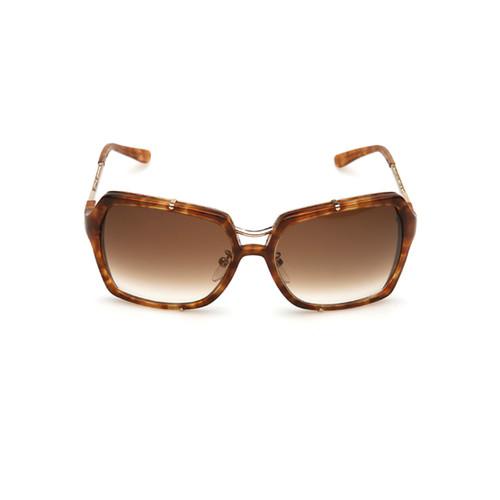 Enmarcado pesadas gafas de sol