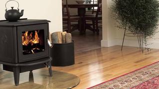How to burn wood overnight