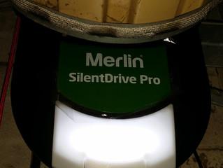 New Merlin roller door opener installed