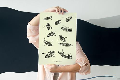 Poster Pescadores