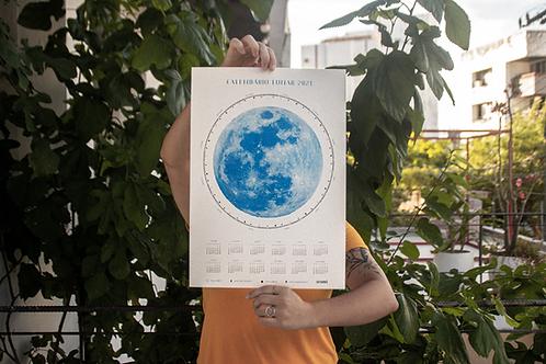 Calendário Lunar 2021 A3