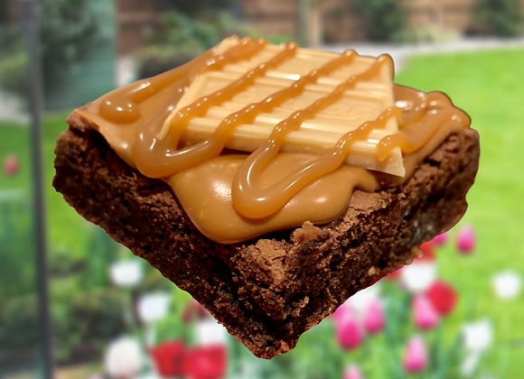 Caramac Brownie