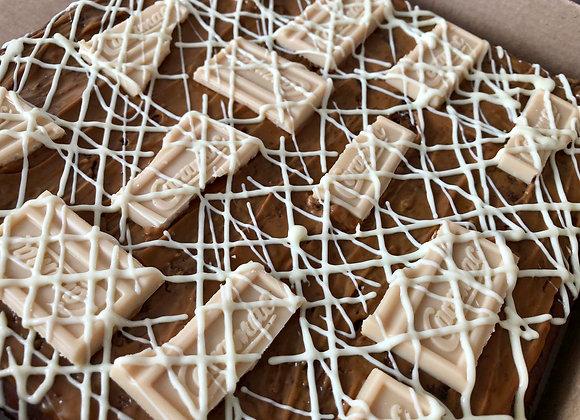Caramac Brownie Tray