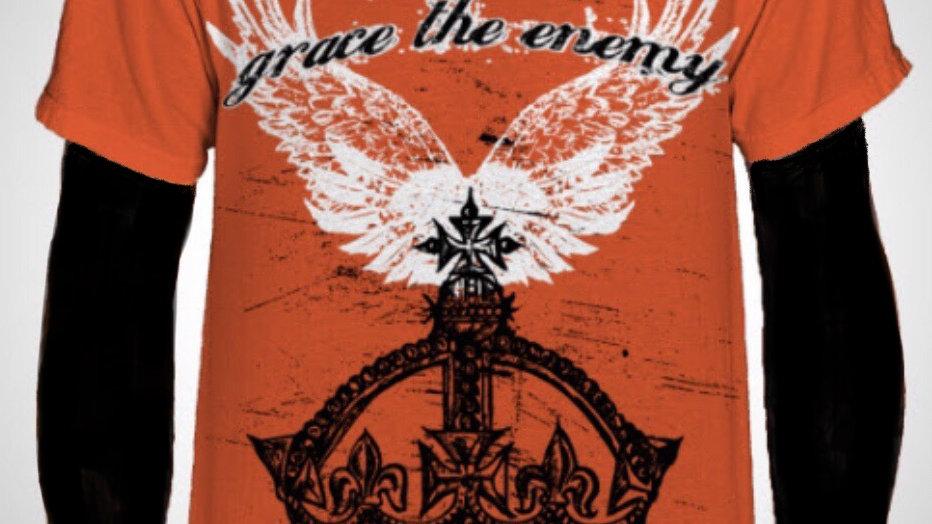 Grace The Enemy Orange T