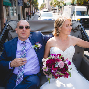 An Intimate Rooftop Wedding