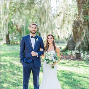 Rachel & Rob - Magnolia Plantation