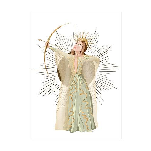 La déesse - Affiche impression (A3|A4|A5|CP)
