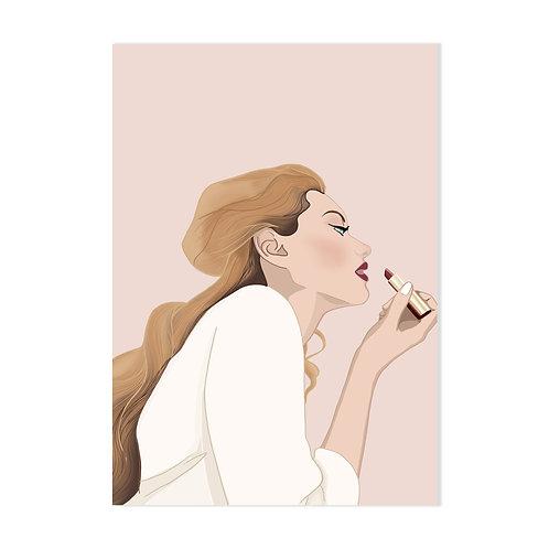Scarlette - Affiche impression (A3|A4|A5|CP)