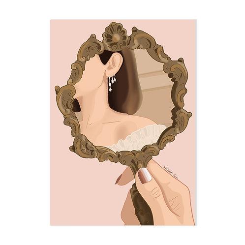 Miroir, Miroir - Affiche impression (A3|A4|A5|CP)