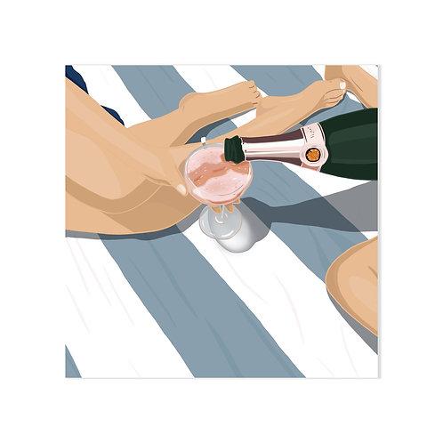 Champagne ! - Affiche impression (A3|A4|A5|CP)