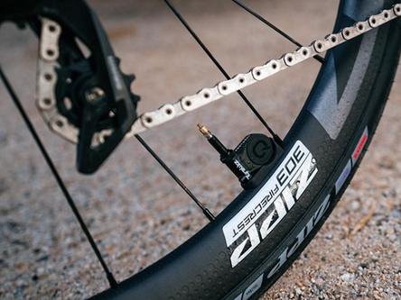 ¡Baja la presión de las ruedas de tu bicicleta!
