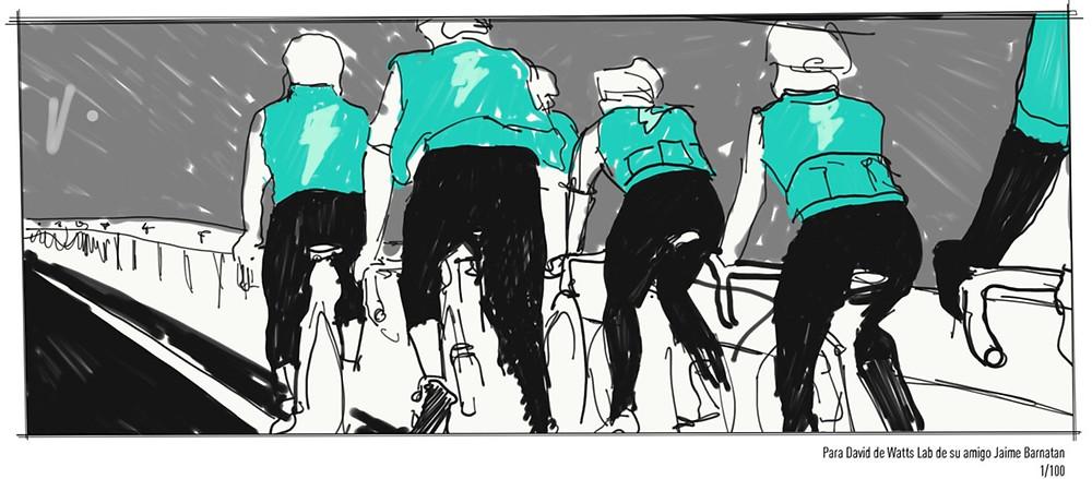 Watts Lab group rides