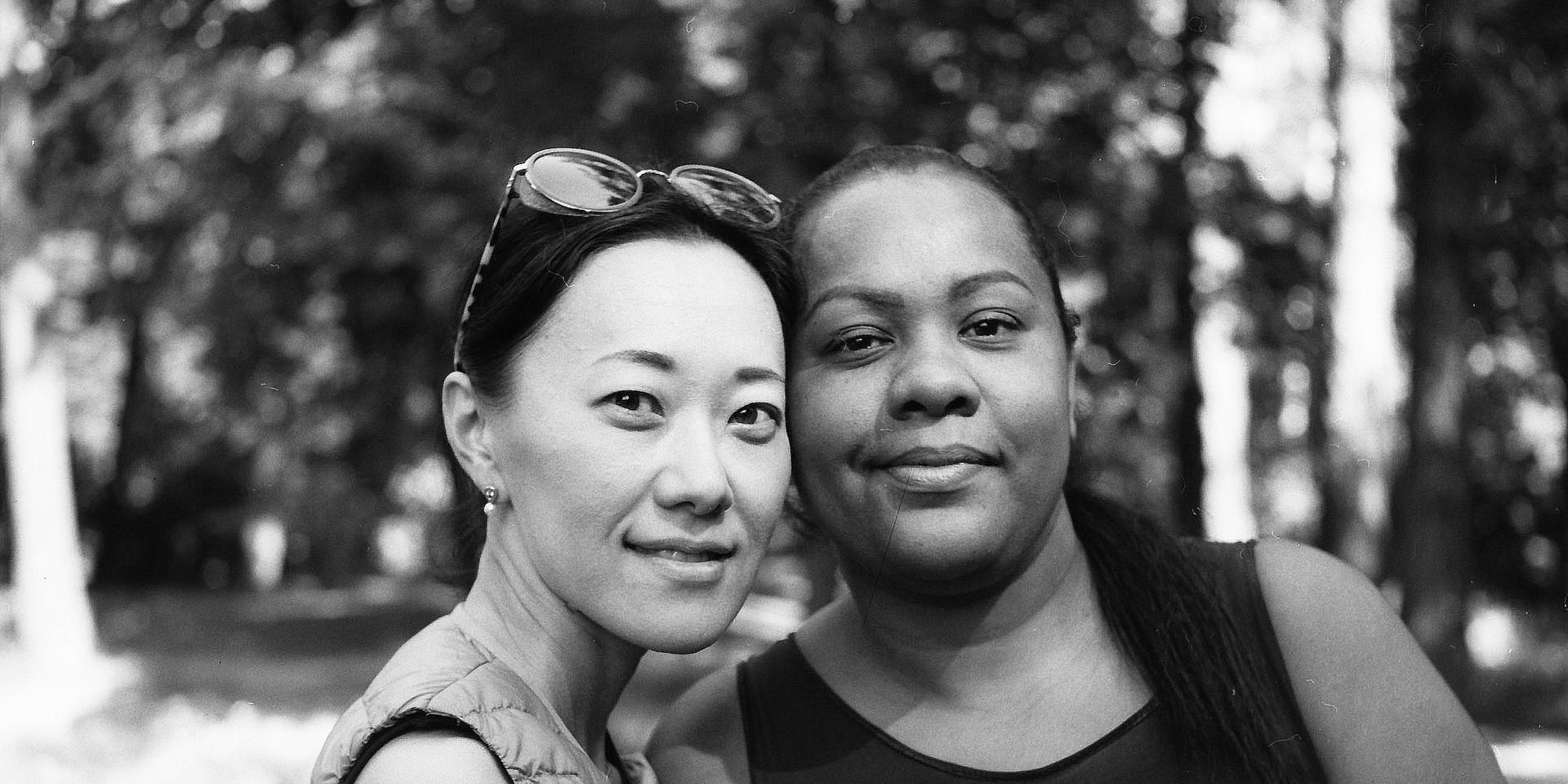 Black and White Stars | Irina and Cristiane