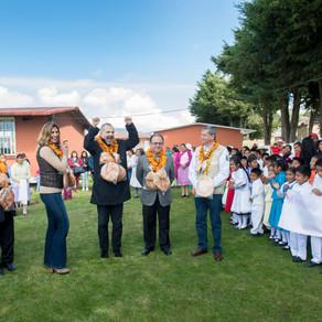 Las Fundaciones CIE, Patrimonio Indígena MX, Miguel Bosé y el FORMULA 1 GRAN PREMIO DE MÉXICO 2018TM