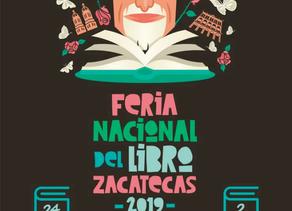 Lista la Feria Nacional del Libro de Zacatecas 2019