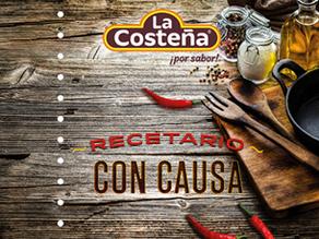 """La Costeña® presenta """"Recetario con Causa"""" en la FIL Guadalajara"""