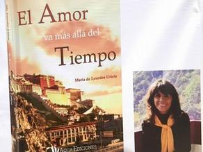 """""""El amor va más allá del tiempo"""", una novela de María de Lourdes Urieta"""