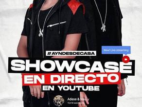 El dúo líder del urbano juvenil Adexe & Nau dará un showcase en directo desde casa