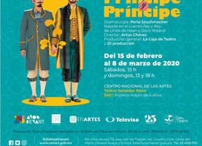 Príncipe y Príncipe regresa al Teatro Salvador Novo