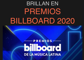 Artistas de Sony Music brilla en los Billboard