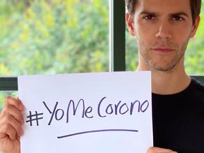 El actor Marc Clotet y la actriz Natalia Sánchez lanzan la campaña #YoMeCorono