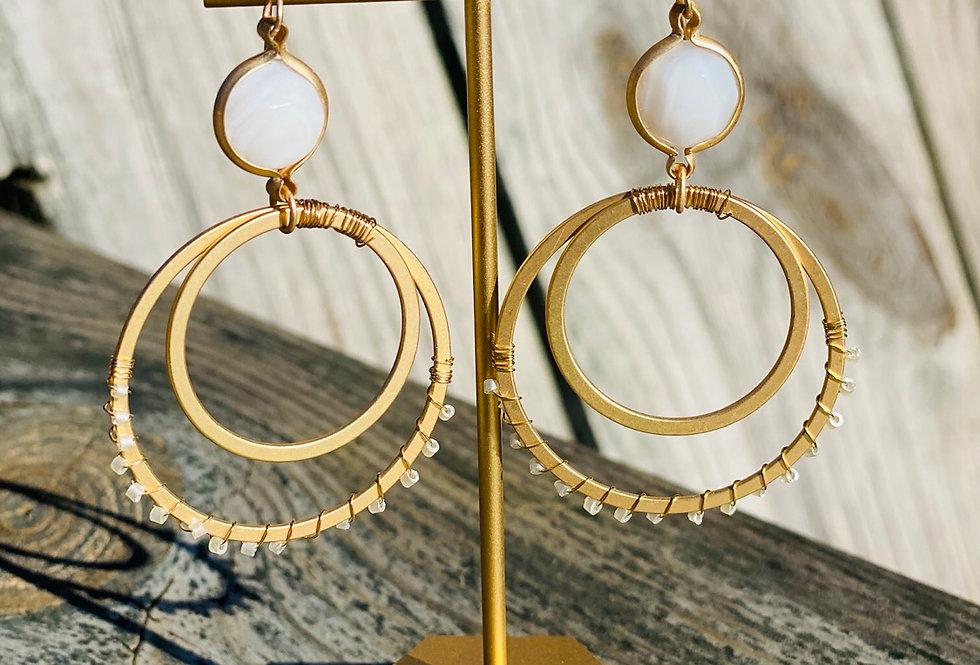 Glam Hoop Earrings