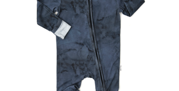 Gigi & Max Coverall (Navy Marble)