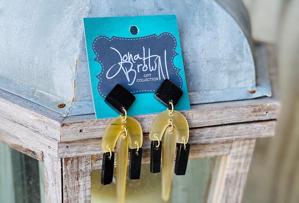 Black Accent Earrings
