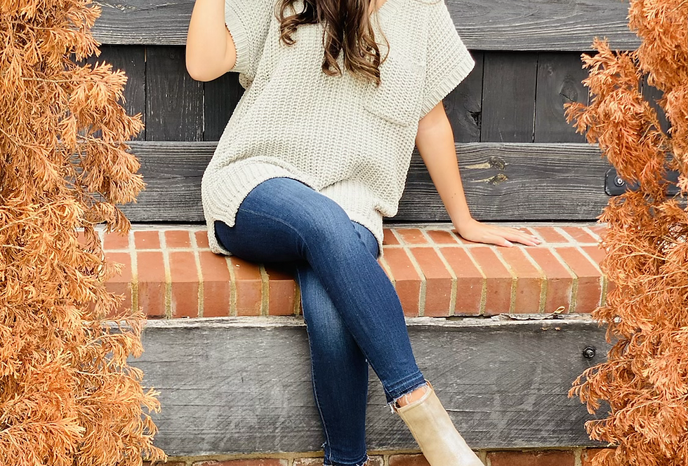 Not Your Basic Sweater in Sage