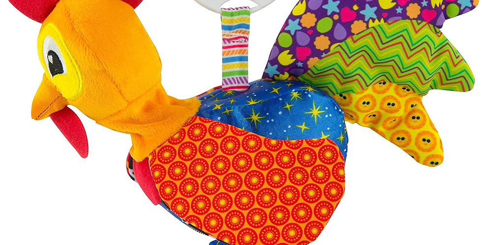 Rooster Car Seat Toy