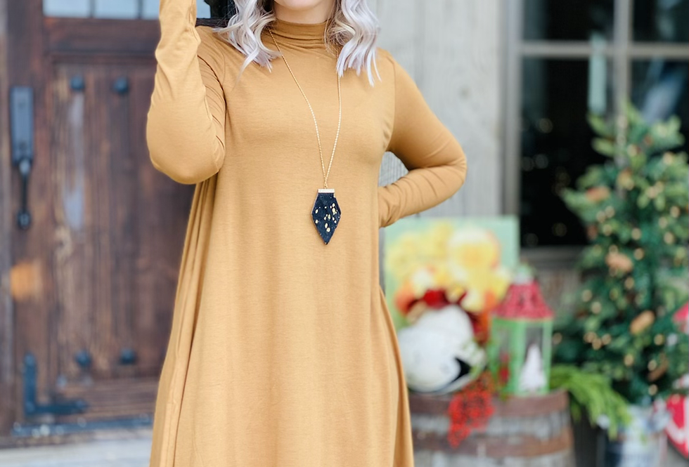 The One Dress in Camel