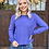 Thumbnail: Two of a Kind Top in Periwinkle
