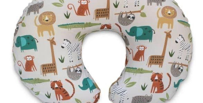 Safaris Print Boppy Pillow