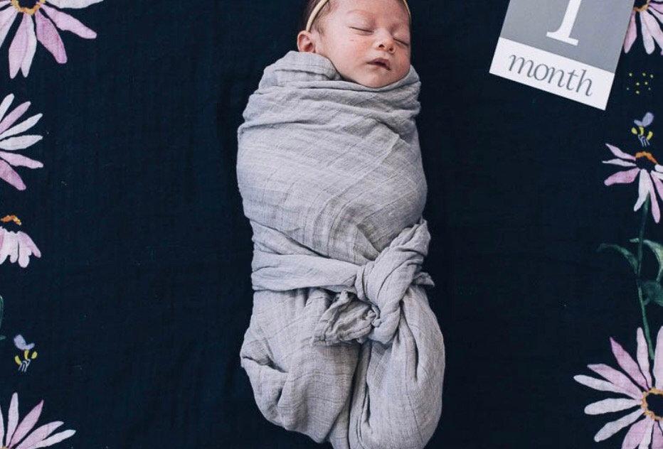 Little Unicorn Monthly Photo Blanket