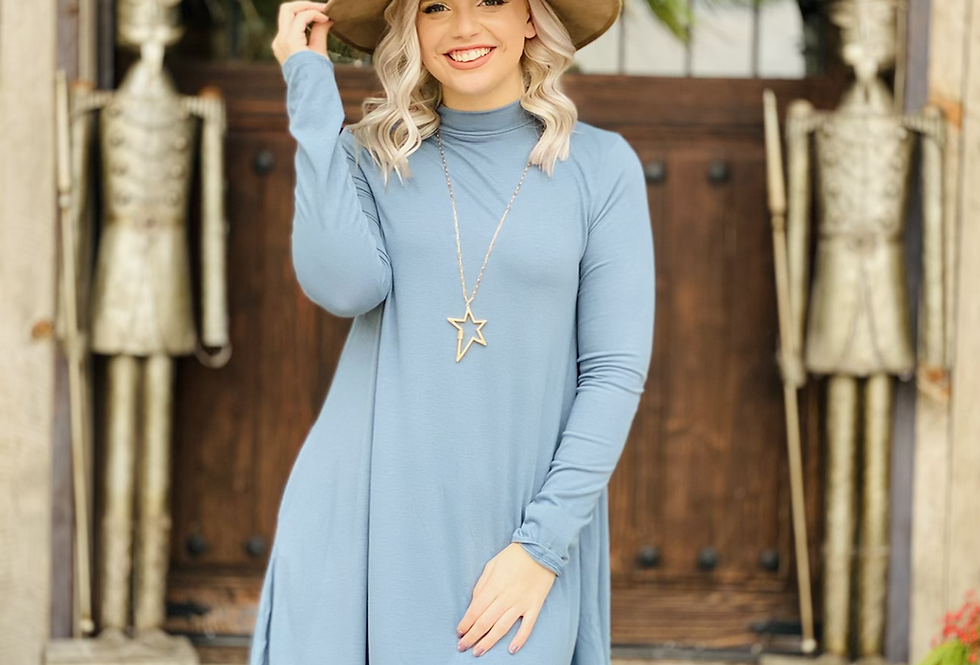 The One Dress in Light Blue