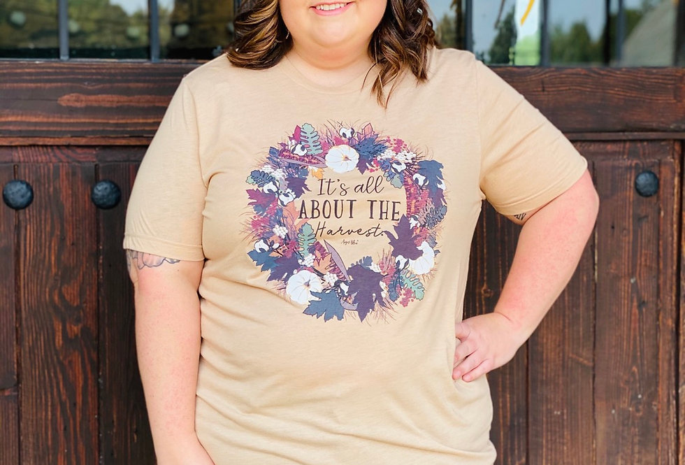 It's All About the Harvest Tee CURVY