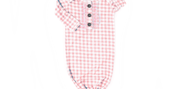 Gigi & Max Gingham Knot Gown