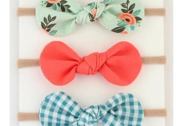 3pk Headband Bows