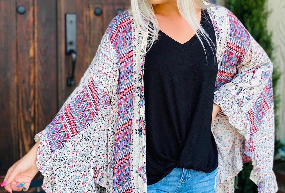 Wild and Free Kimono