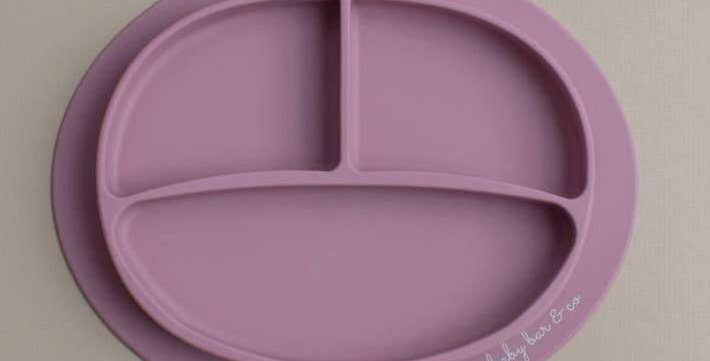Mauve Suction Plate
