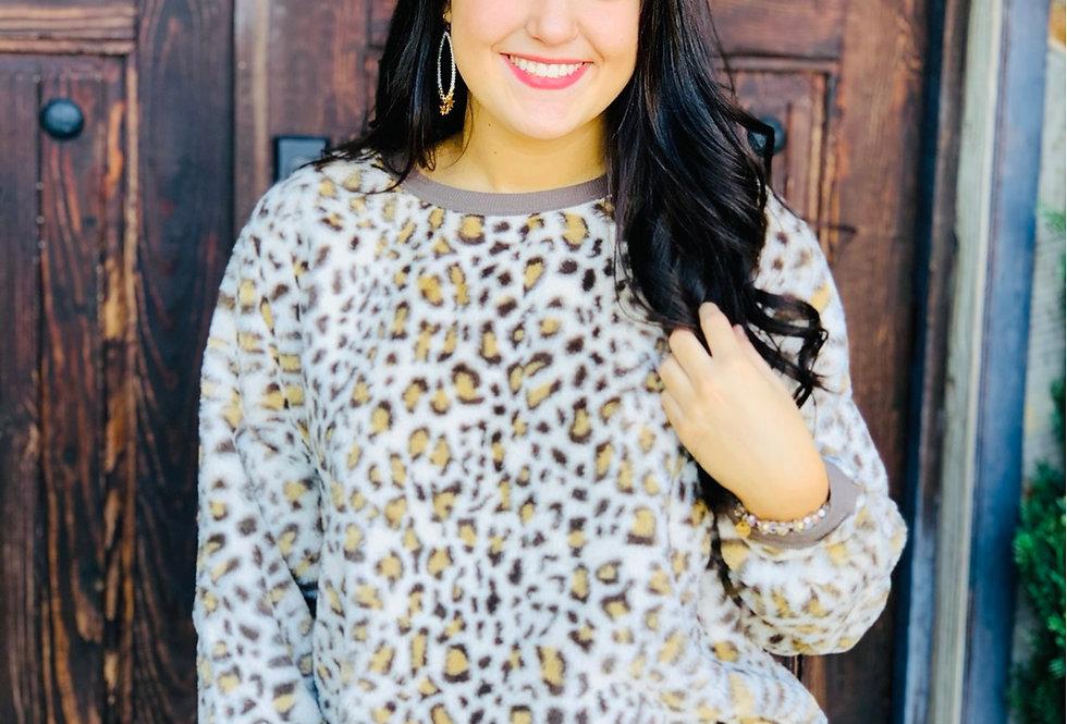 Cuddle Me Cheetah Plush Top